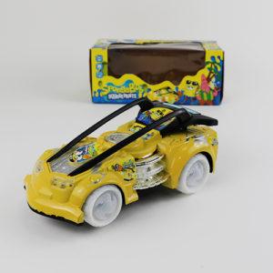 Желтая машинка