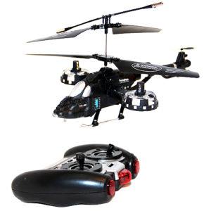 Вертолет на управлении