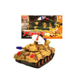 Игрушка танк музыкальный