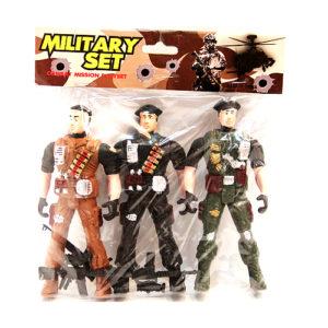 Набор солдат с автоматами