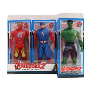 Набор супергероев 12 шт. в упак.