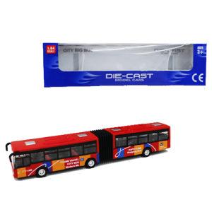 Автобус с гармошкой
