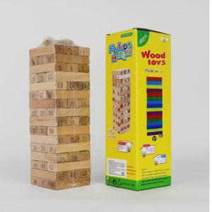 Деревянная игра Сорви башню