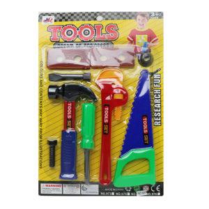 Игровой набор инструментов на блистере