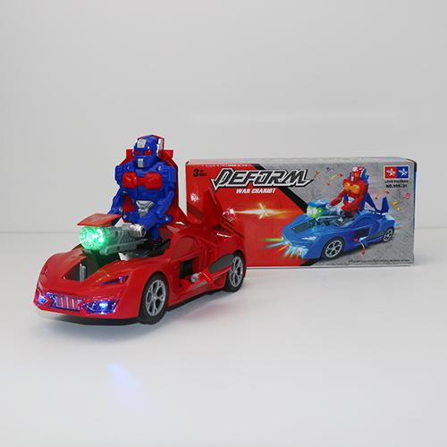 Машинка на батарейках трансформер