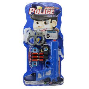 Полицейский набор на блистере