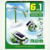 Конструктор 6 в 1 на солнечных батарейках