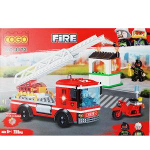 Конструктор машинка пожарная