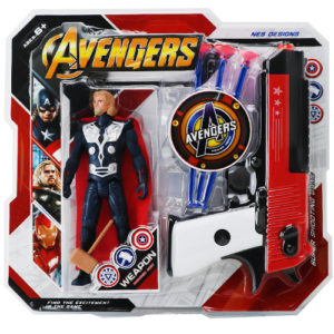 Пистолет с супергероем