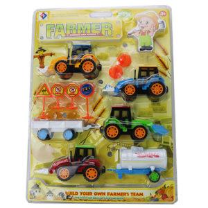 Набор тракторов на блистере