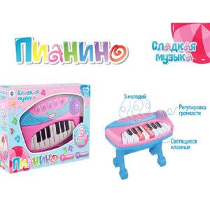 Детское пианино на батарейках
