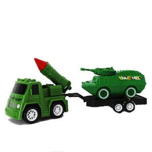 Инерционный грузовик с танком