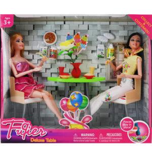 Набор куклы в кафе