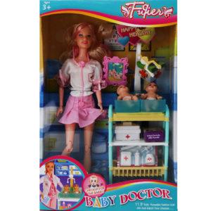 Набор кукла педиатр