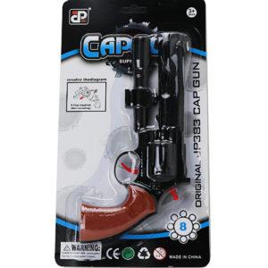 Пистолет с пистонами на блистере
