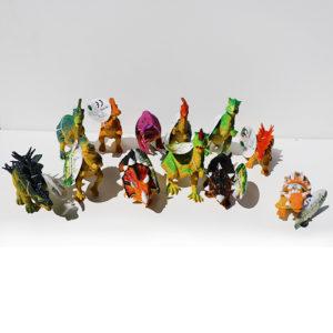 Динозавры 12шт в уп