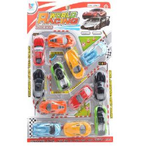 Машинки на блистере 12шт